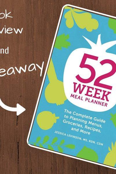 52 Week Meal Planner Giveaway!