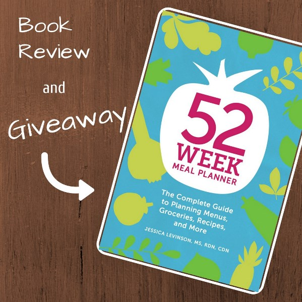 52 Week Meal Planner Giveaway! Great tools to make your meal planning more successful!