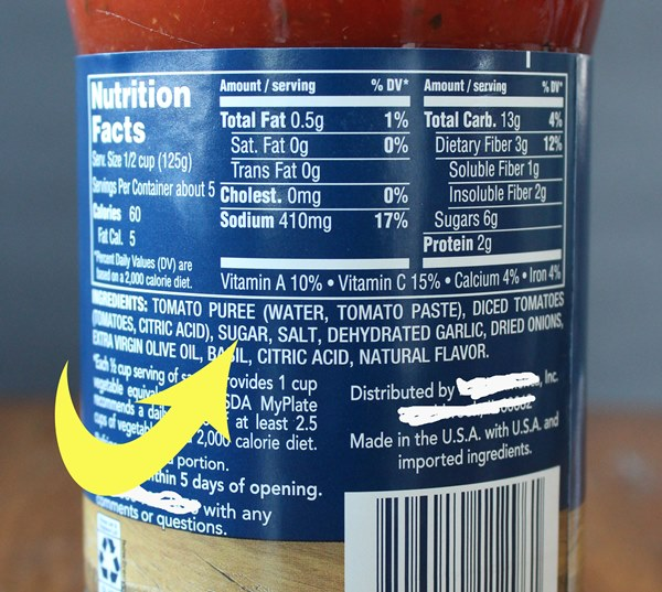 What to Look For in a Pasta Sauce - Store-bought pasta sauce often comes with added sugar and excess salt. But with the right tools you can choose wisely and find a healthier pasta sauce for your family.