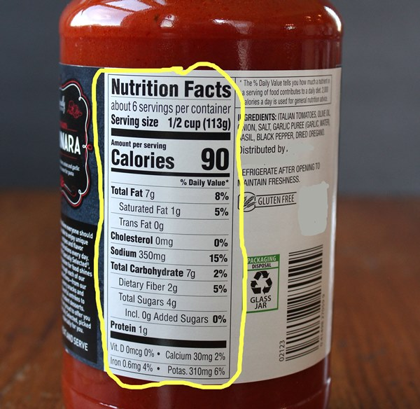 What to Look For in a Pasta Sauce - No time for homemade spaghetti sauce? Don't worry! With a few tips and guidelines, you can easily find and choose a healthier pasta sauce for your family.