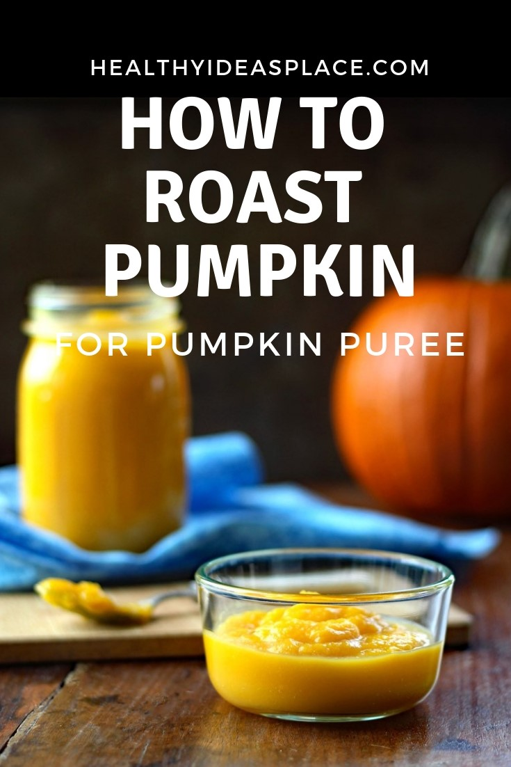It's easy to roast pumpkin for pumpkin puree! The flavor is unbeatable for all your favorite pumpkin recipes that call for pumpkin puree. Use immediately for freeze for later use!