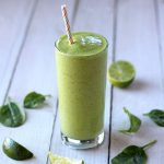 This is the best Green Smoothie with Pineapple and Mango. It's easy to make, sweet and delicious, and filled with nourishing nutrients your body will love.