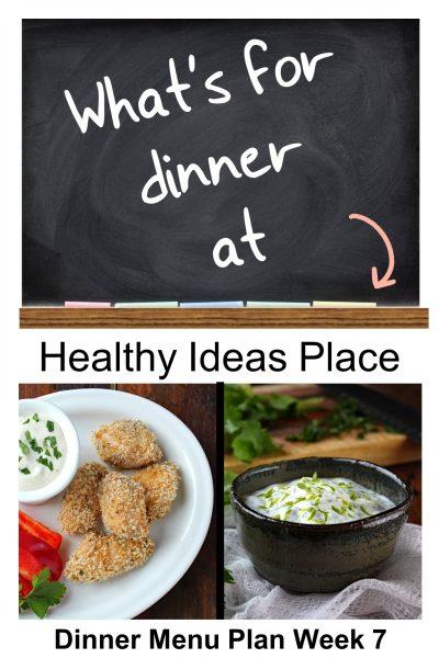 What's for Dinner? Menu Plan Week 7