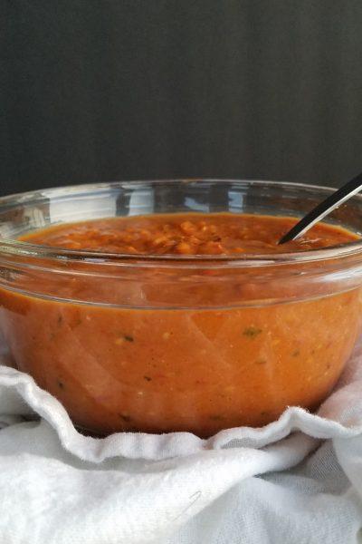 Roasted Cherry Tomato Sauce