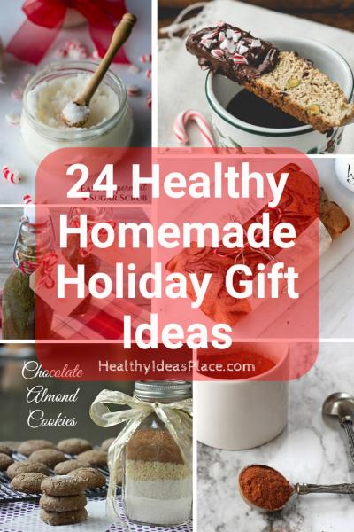 24 Healthy Homemade Holiday Gift Ideas