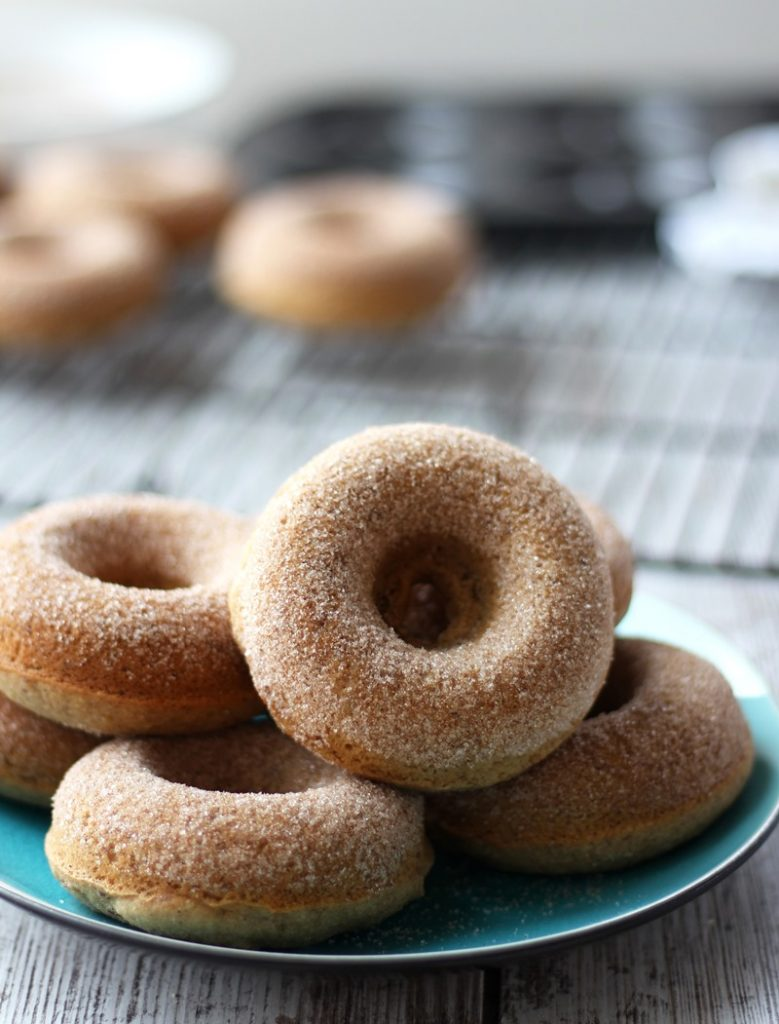 Baked Apple Cider Donuts - Healthy Ideas Place