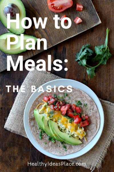 How to Plan Meals – the Basics